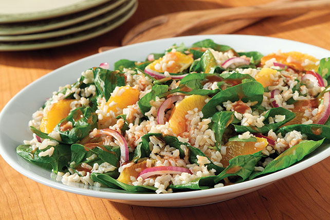 Citrus Spinach & Rice Salad Image 1