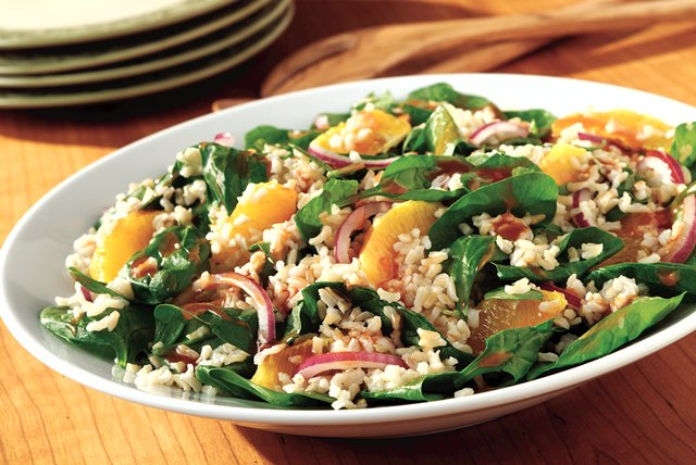 Citrus, Spinach & Rice Salad Image 1
