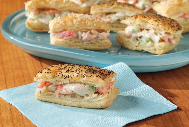 Seafood Salad Sandwiches Image 1