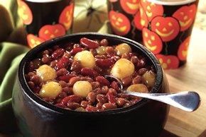 Spooky Eyeball Beans