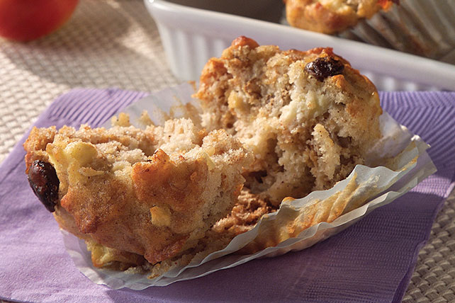 Apple Raisin Bran Muffins Image 1