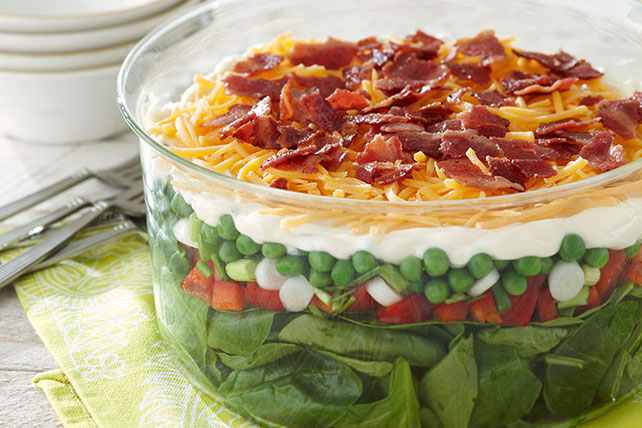 Seven Layer Salad Image 1
