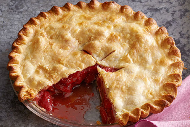 Strawberry-Rhubarb Pie Image 1