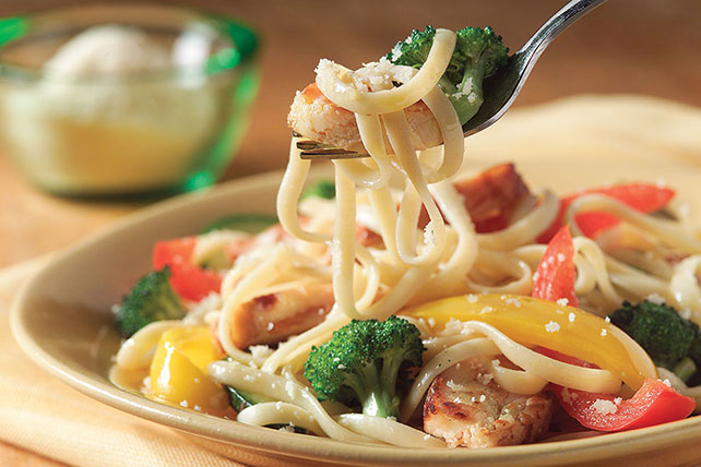 Chicken Pasta Primavera My Food And Family