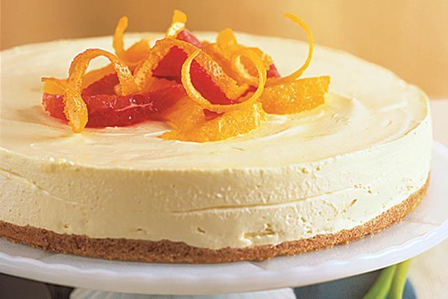 Gâteau au fromage aux agrumes sans cuisson Image 1
