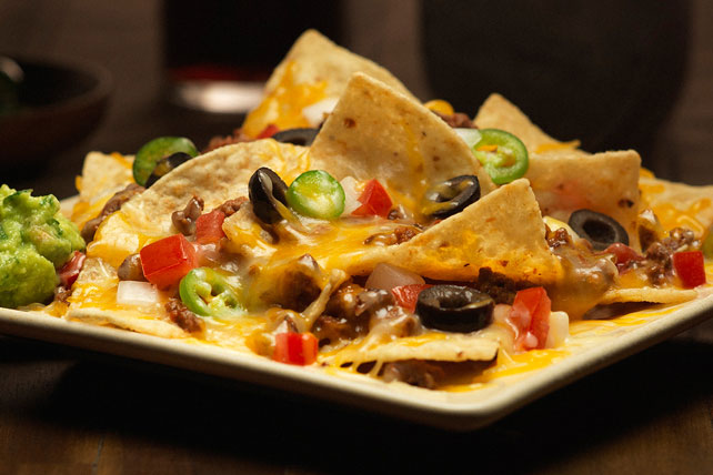 Nachos with Cheesy Beef Image 1
