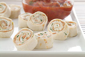 PHILADELPHIA Creamy Tortilla Roll-Ups