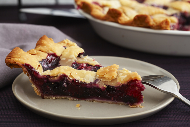 Blueberry, Raspberry & Blackberry Pie Image 1