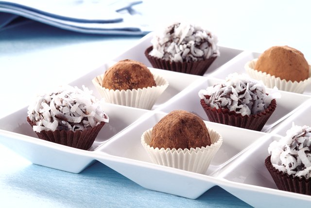 Bittersweet Chocolate Truffles - Kraft Recipes