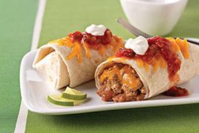 Beef & Bean Burritos Grande