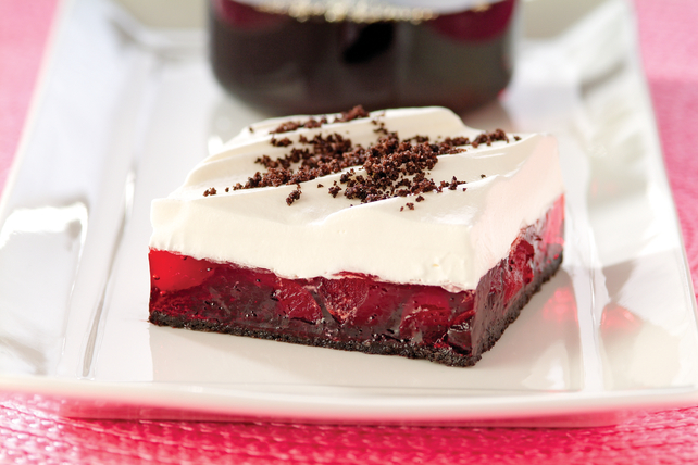 Chewy Chocolate Cherry Squares Image 1