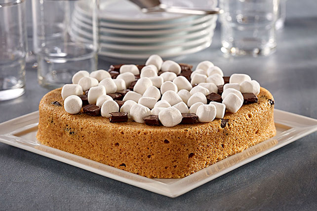 Magical Mystery Microwave S'Mores Cake Image 1