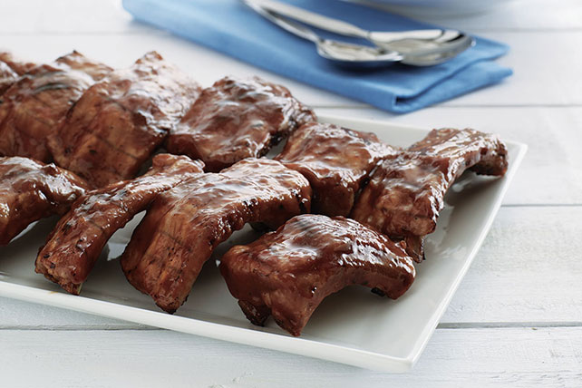 Baby Back Barbecue Ribs Image 1