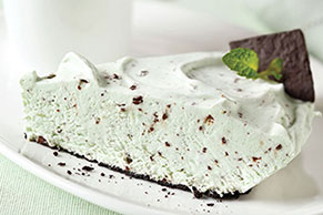 Grasshopper Pudding Pie