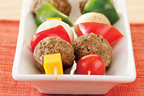 Cheeseburger Kabobs