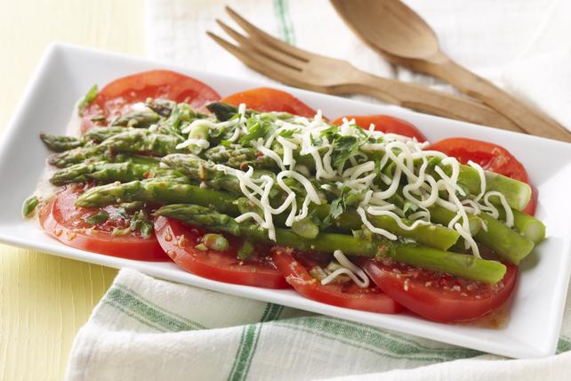 Salade de tomates et d'asperges Image 1