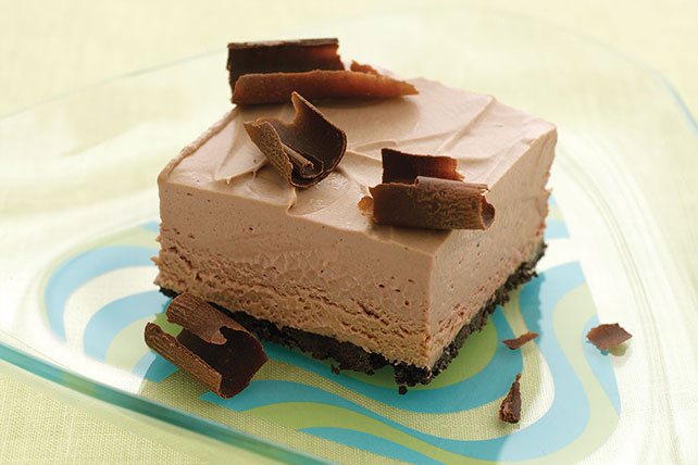 Frozen Chocolate Mousse Squares Image 1