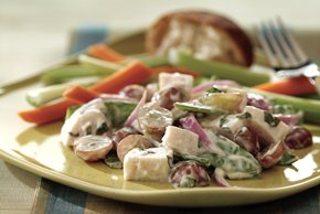 Cool Lemon Turkey Salad