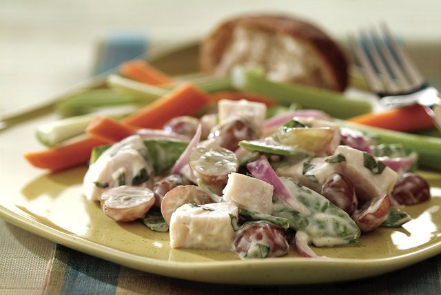 Cool Lemon Turkey Salad Image 1