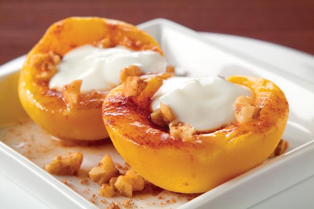 Cinnamon and Brown Sugar Peaches Image 1