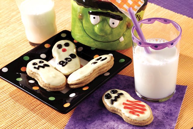 Easy Ghost Cookies Image 1