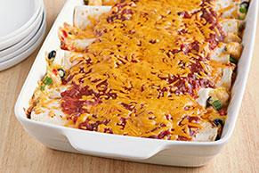 Baked Fiesta Enchiladas