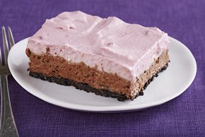 Chocolate-Raspberry Mousse Dessert