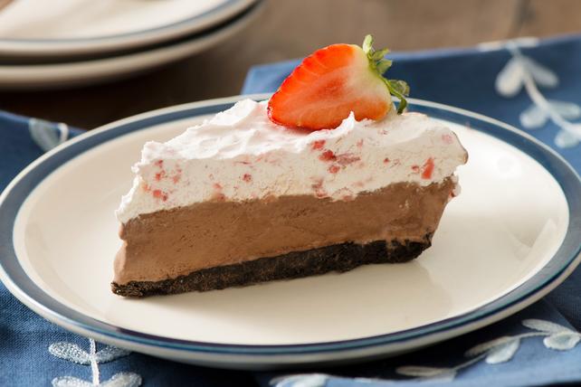 Chocolate Strawberry Pie Image 1