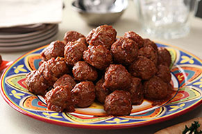 Mexicali Appetizer Meatballs