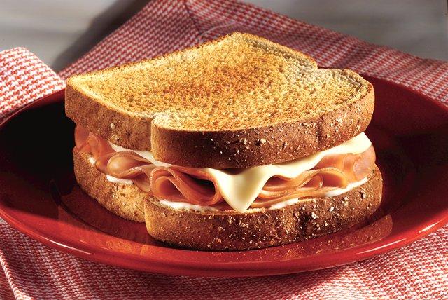 Ham Cordon Bleu Sandwich Image 1