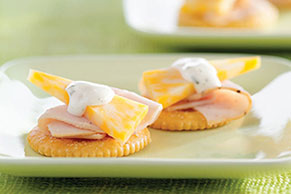Turkey Ranch and Cheese Snacks