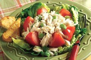 Tomato Crabmeat Salad