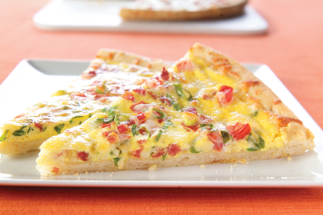 Bacon & Eggs Pizza Image 1