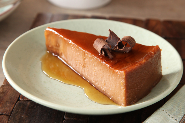 Chocolate Orange Flan Image 1