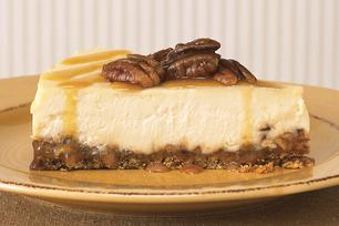Caramel-Praline Cheesecake