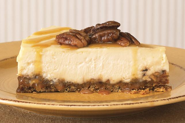 Caramel-Praline Cheesecake Image 1