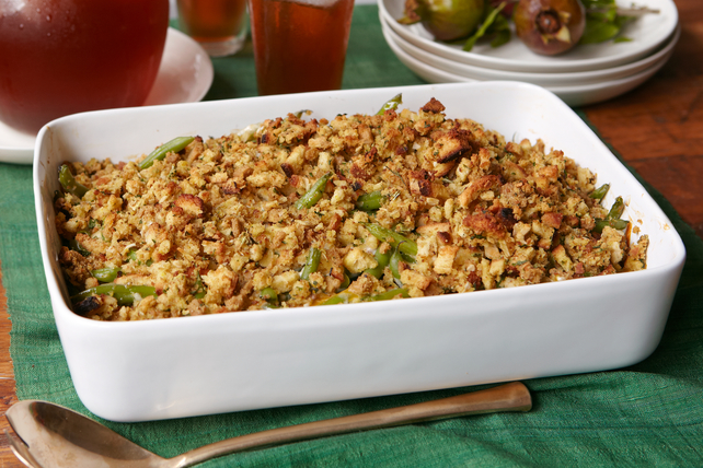 Cheesy Green Bean Casserole Image 1
