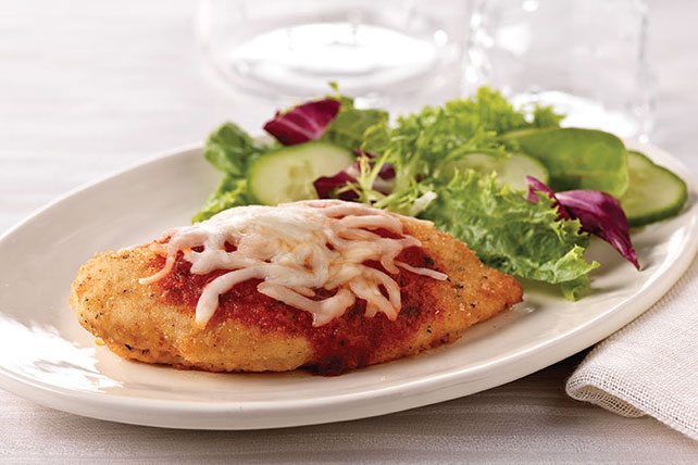 Crispy Chicken Parmesan Recipe Image 1