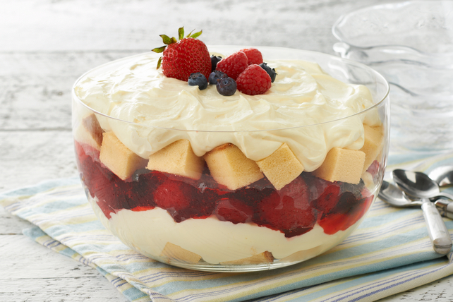 Summer Berry Trifle Image 1