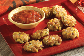 STOVE TOP Skillet Fritters