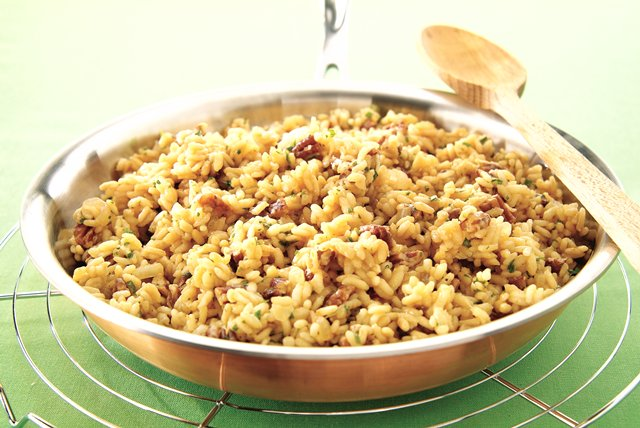 Toasted Pecan Risotto