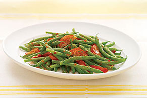Green Beans and Tomatoes Italian
