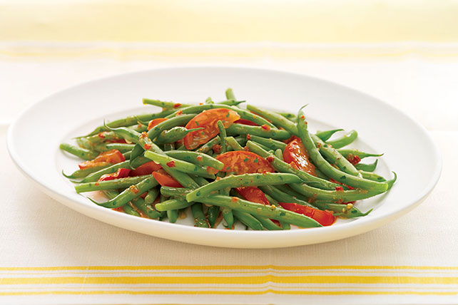Green Beans and Tomatoes Italian Image 1
