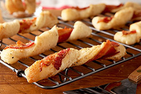 Peppered-Bacon Twists