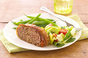 recipe: kraft mini meatloaf bacon [24]