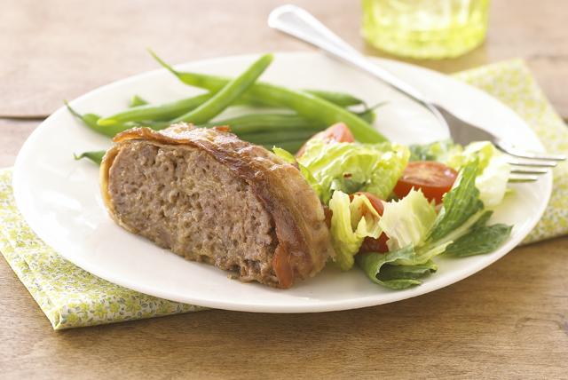 Cheesy Bacon Meatloaf Image 1