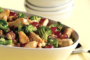 Recipe for Broccoli Salad with Chicken