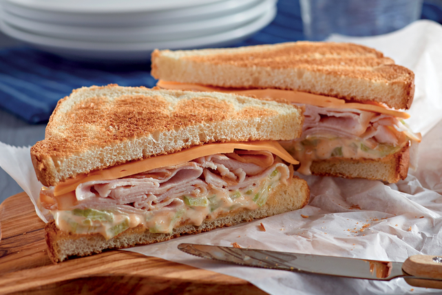 Buffalo Turkey Sandwich Image 1