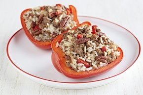 Pecan-Stuffed Peppers