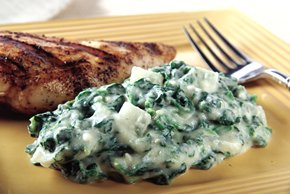 GREY POUPON Creamed Spinach